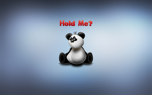 Panda: Hold Me? by jquest68