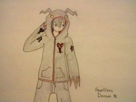 Shade with heartless hoodie by XxEAltairRoxsAxX