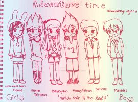 Adventure time by vamfh14cullen