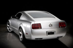 2009 Mustang Iacocca 45th Back by TheCarloos