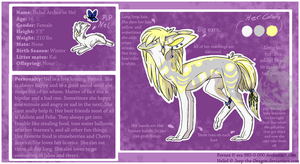 Nel Ref sheet 2012 by Jeep-The-Dragon