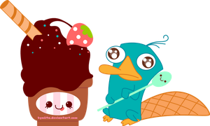 Perry Love Ice Cream by ByNiita