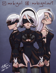 NieR: Automata cast by MrBIGAL