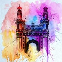 Charminar, Hyderabad by Another-Scarlet-Lily