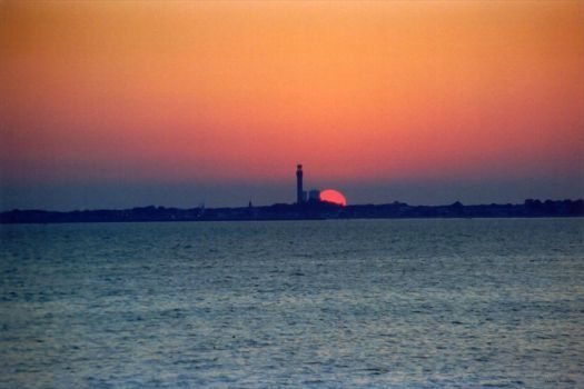 Provincetown Sunset II by ctw