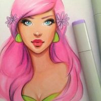 Copic WIP by gabbyd70