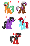My Rittle Poeknee Adoptables CLOSED by Goldnight13