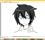 Human..ish Jeff the Killer in SAO Style ::WIP:: by AllTheLittleWonders