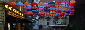 Umbrella Street by TheNimster