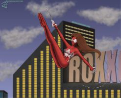 Spider-woman by Djeroon