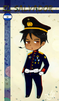Military El Salvador: HH Chibi Style by LKeiko