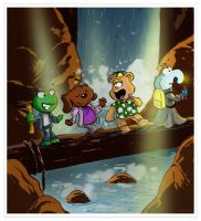 Muppet Babies meets Goonies by littlereddog