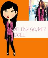 Selena Gomez Doll by HUGO542