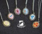 Mane Six Pendants - SALE by FeathersOfAnAngel