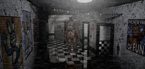 ..:Un Withered Freddy in the Main Hall:.. by lllRafaelyay