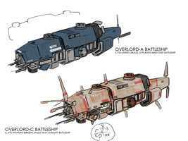 Overlord Battleship by Norsehound
