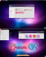 DREAM OS WINDOWS 7 by jessy-izan