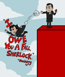 I Owe You A Fall, Sherlock by BradyMajor