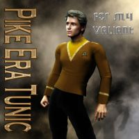 Captain Pike Era Tunic for M4 Valiant by mylochka