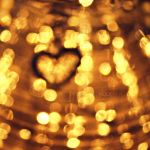 Bokeh heart by Zwoing