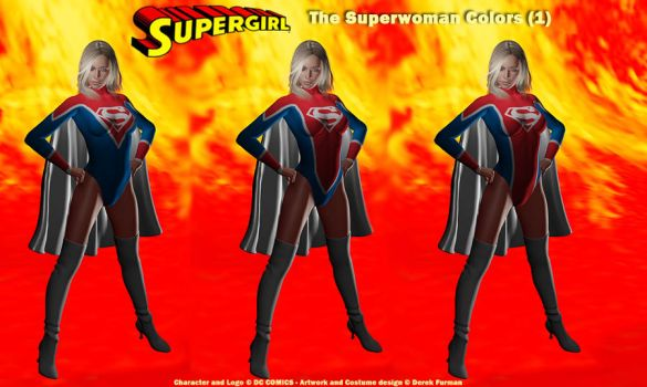 Superwoman New Supergirl 1 by dlfurman
