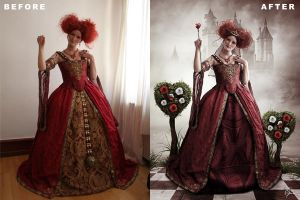 Queen Of Hearts BA by melanneart