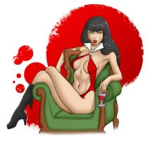 Vampirella - Queen of Vampires by deli-Yu