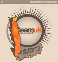 teamuk tshirt design : back by bozor
