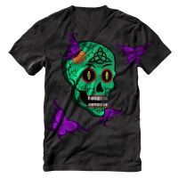 Sugar skull tee by Kaygeezyfied