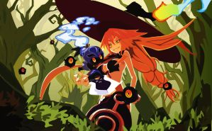 The Witch and the Hundred Knight by blueeyes311