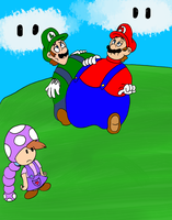 AT: What happens to the Mario bros? by Aso-Designer