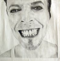 Show some Teeth Bowie by aBitBosch