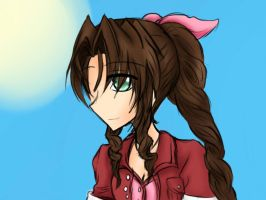 Aerith by chibi-nao15