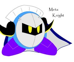 Meta Knight by LovelyKirbyGirly