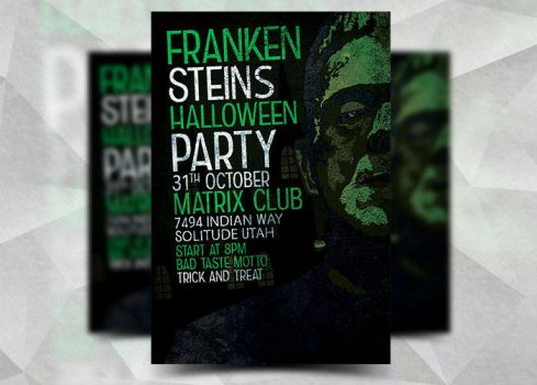 Frankensteins Halloween by Flyermarket