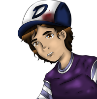 male!Clementine by uberhaxorerin