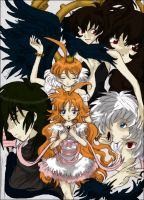 Princess Tutu Collage by VasyaSolnyshko
