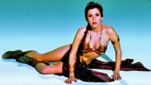 Carrie Fisher Slave Girl Princess VIII by Dave-Daring