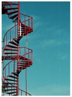 stairs to the sky by waxid