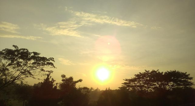 West Bandung Sunrise by griesella