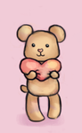 Heart Bear by ChiuuChiuu