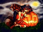 Pumpkin Snuggle by RadicalCat
