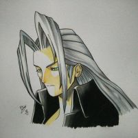 Final Fantasy 7 Sephiroth by Percy-IceW