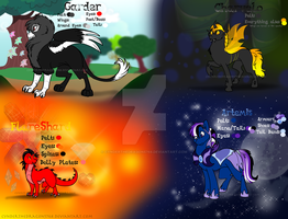MLP characters for my sister by Cynderthedragon5768