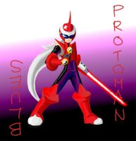 Protoman:Blues by AngelicPiggy