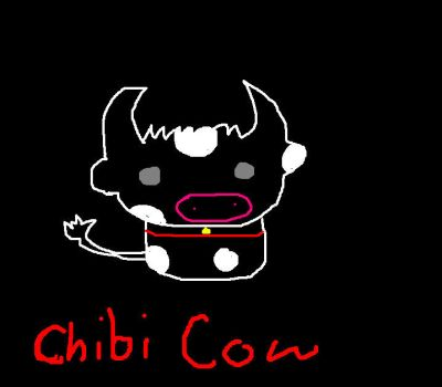 Chibi Cow by Kennychanx3