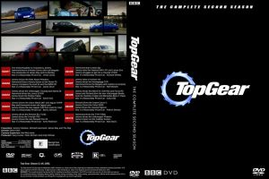 TopGear. DVD Cover of Season 2 by Driver23