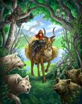 princess mononoke by GoldenDaniel