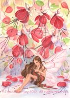 Fuchsia Fairy by JoannaBromley