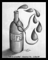 Life in a bottle by Kid15